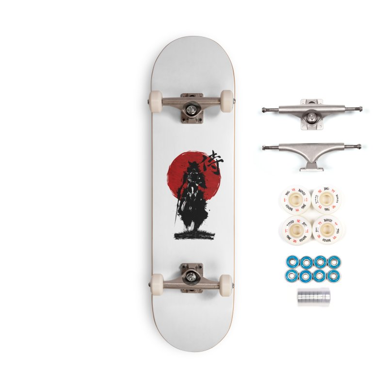 The Samurai Accessories Complete - Premium Skateboard by clingcling's Artist Shop