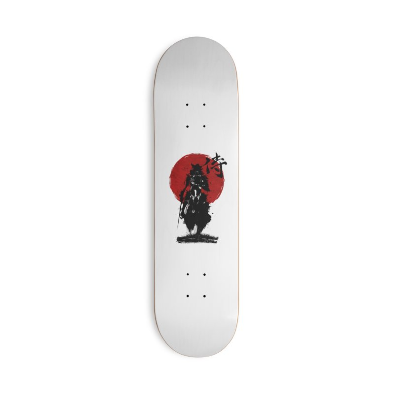 The Samurai Accessories Deck Only Skateboard by clingcling's Artist Shop