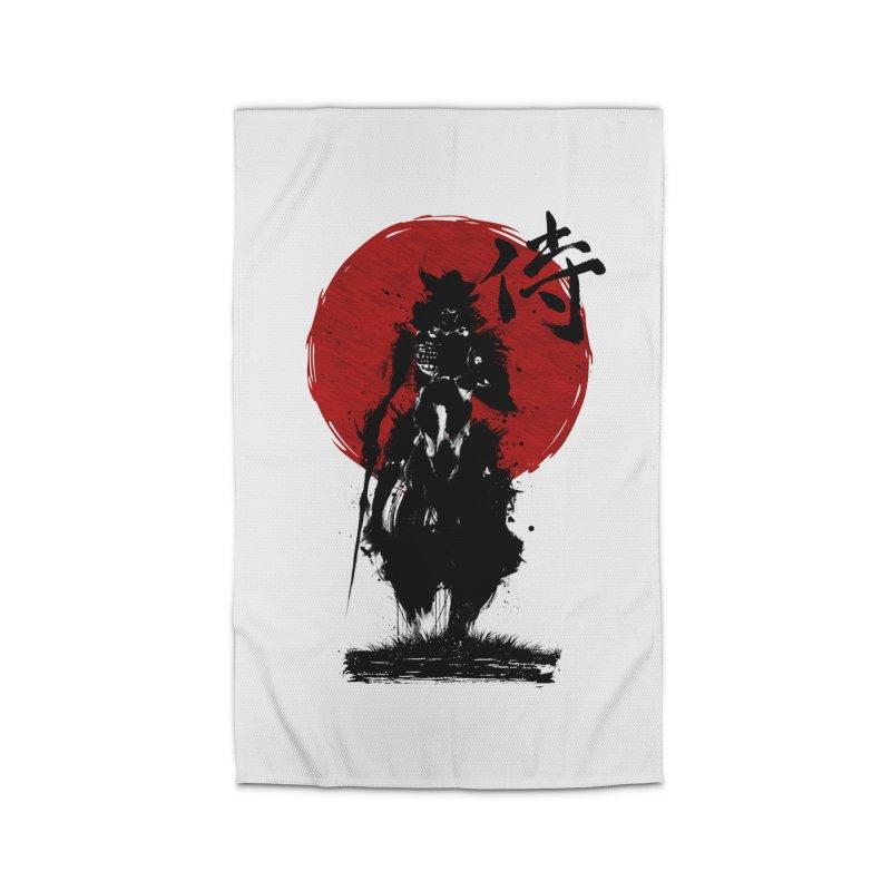 The Samurai Home Rug by clingcling's Artist Shop