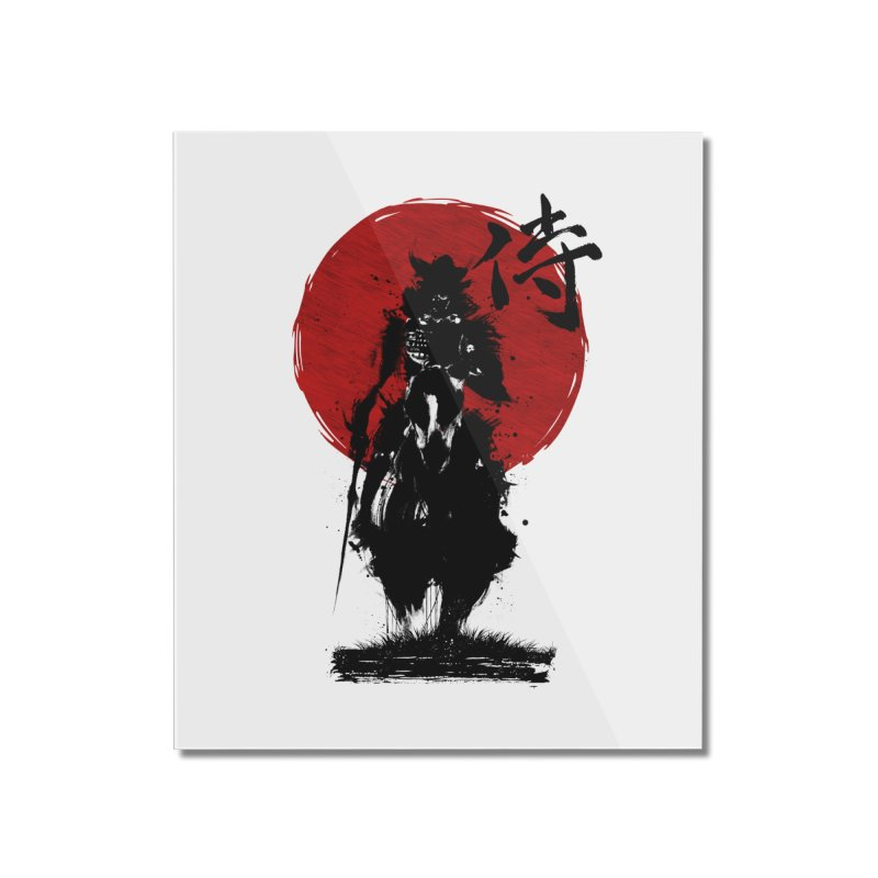 The Samurai Home Mounted Acrylic Print by clingcling's Artist Shop