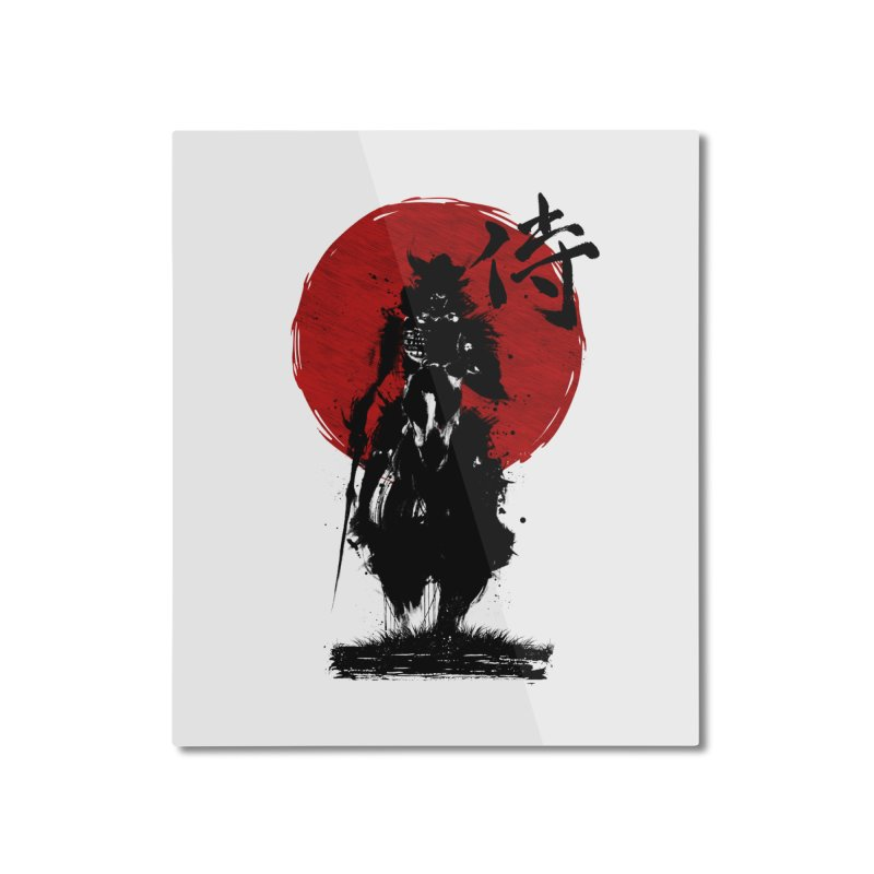 The Samurai Home Mounted Aluminum Print by clingcling's Artist Shop