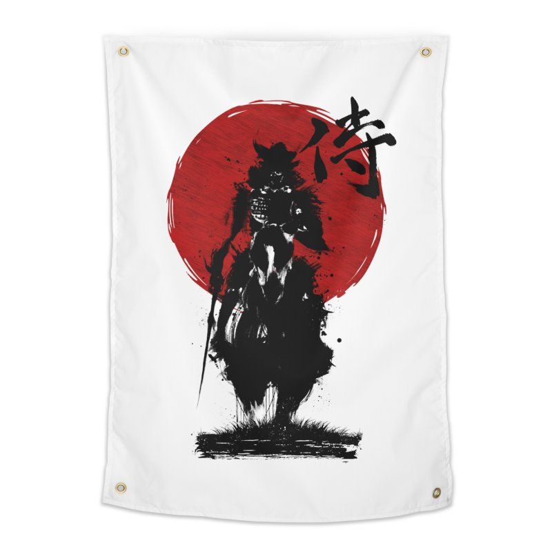 The Samurai Home Tapestry by clingcling's Artist Shop