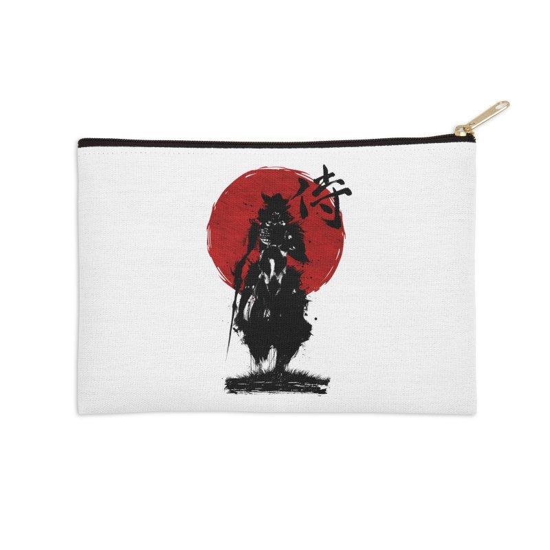 The Samurai Accessories Zip Pouch by clingcling's Artist Shop