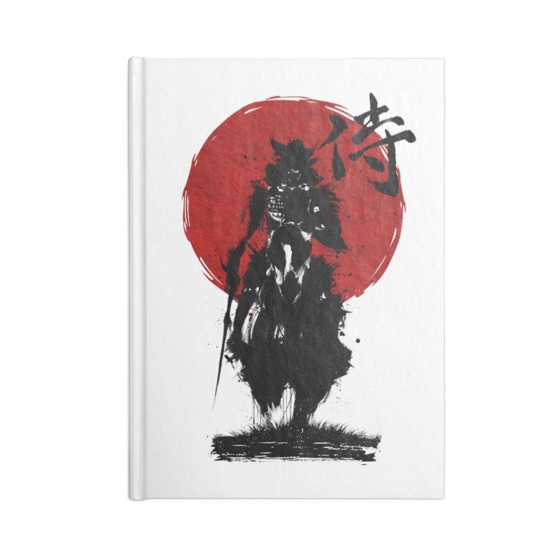 The Samurai Accessories Lined Journal Notebook by clingcling's Artist Shop