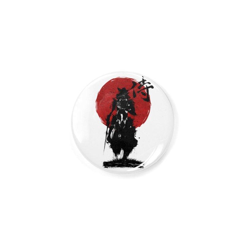 The Samurai Accessories Button by clingcling's Artist Shop
