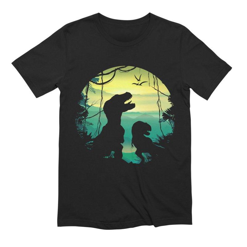 T-rex Men's Extra Soft T-Shirt by clingcling's Artist Shop