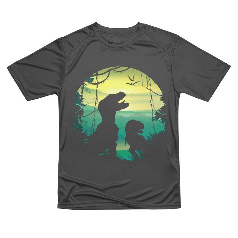 T-rex Men's Performance T-Shirt by clingcling's Artist Shop
