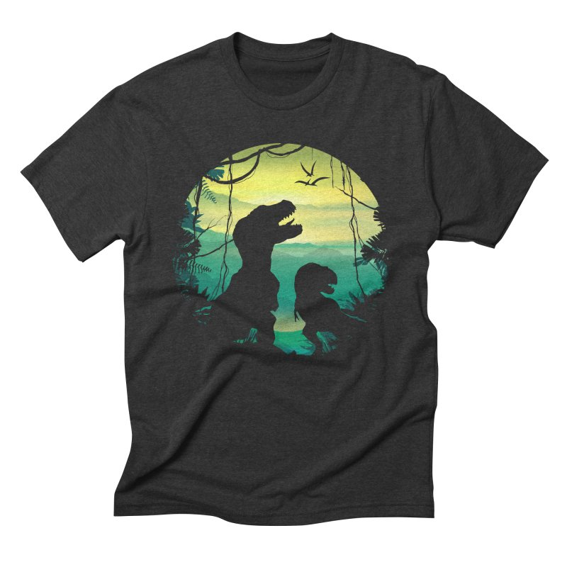 T-rex Men's Triblend T-Shirt by clingcling's Artist Shop