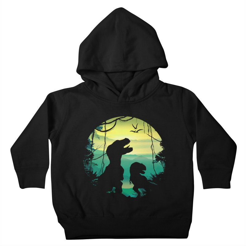 T-rex Kids Toddler Pullover Hoody by clingcling's artist shop