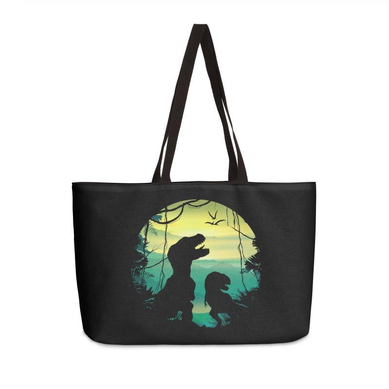 T-rex Accessories Weekender Bag Bag by clingcling's Artist Shop