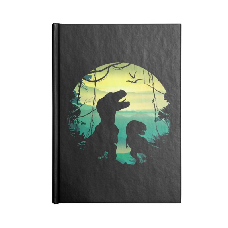T-rex Accessories Blank Journal Notebook by clingcling's Artist Shop