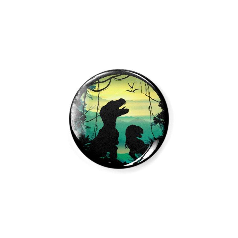 T-rex Accessories Button by clingcling's Artist Shop