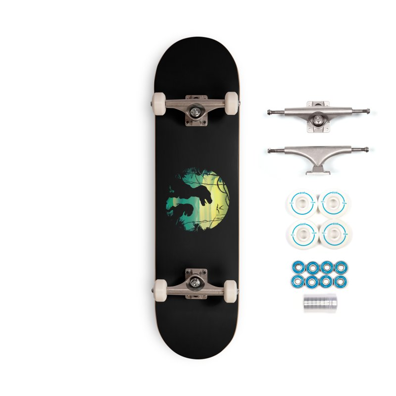 T-rex Accessories Complete - Basic Skateboard by clingcling's Artist Shop