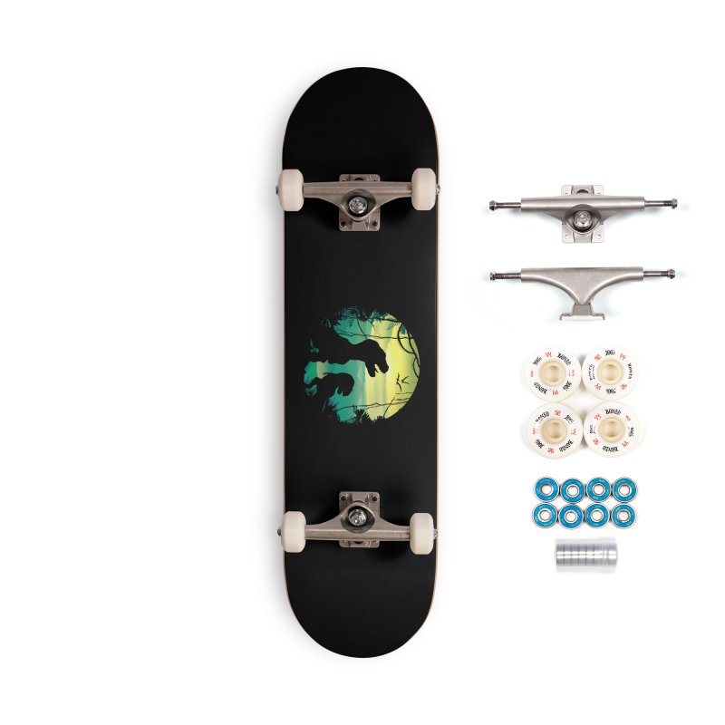T-rex Accessories Complete - Premium Skateboard by clingcling's Artist Shop