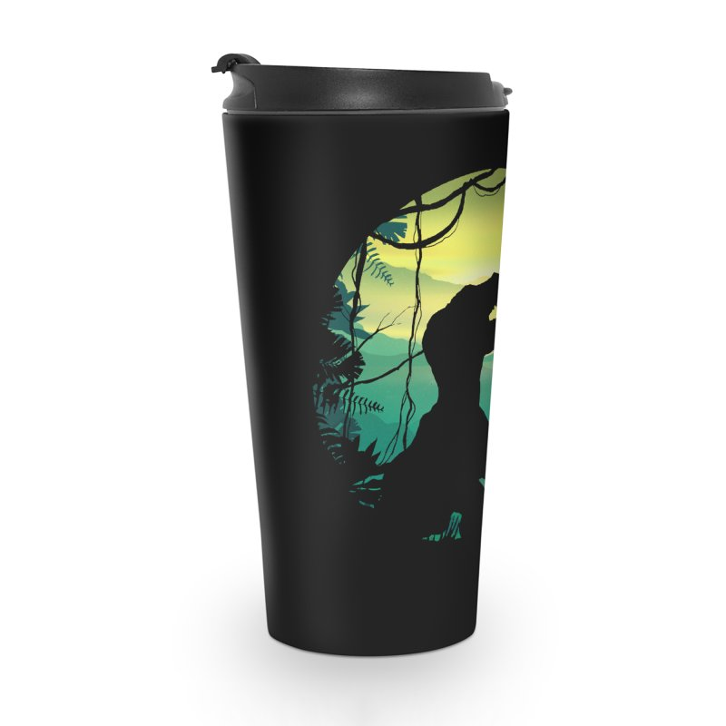 T-rex Accessories Travel Mug by clingcling's Artist Shop