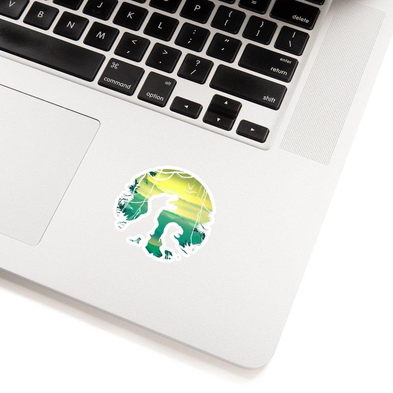 T-rex Accessories Sticker by clingcling's artist shop