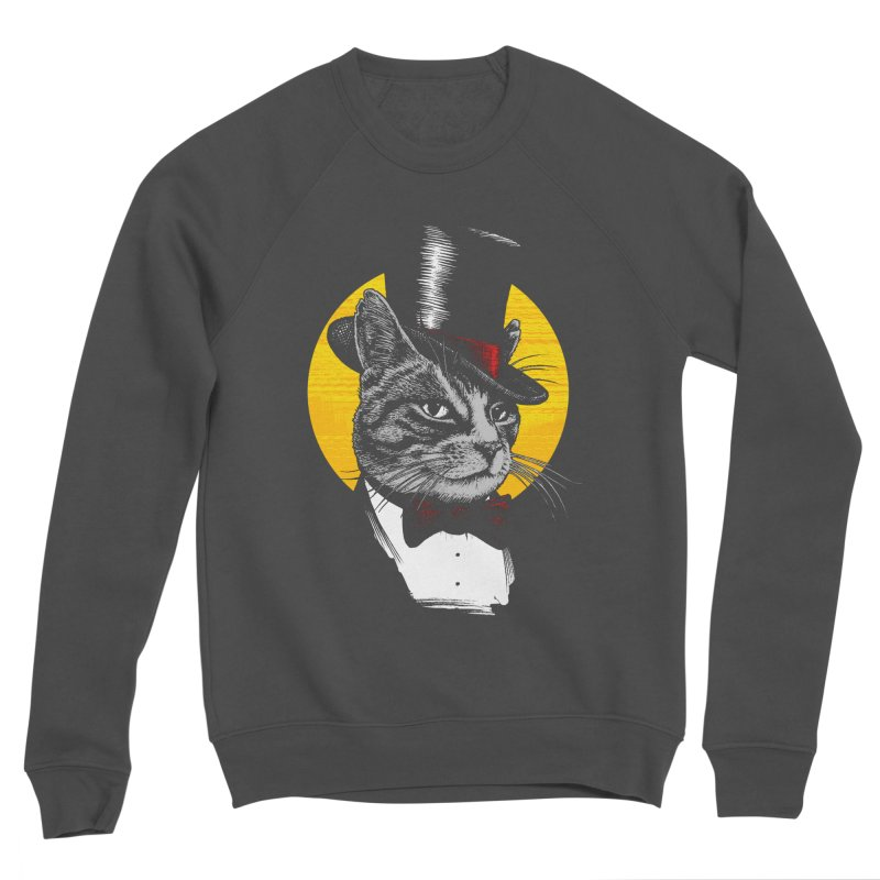 Mr. Cat Men's Sponge Fleece Sweatshirt by clingcling's Artist Shop