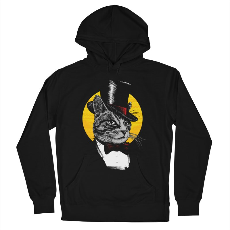 Mr. Cat Men's French Terry Pullover Hoody by clingcling's Artist Shop