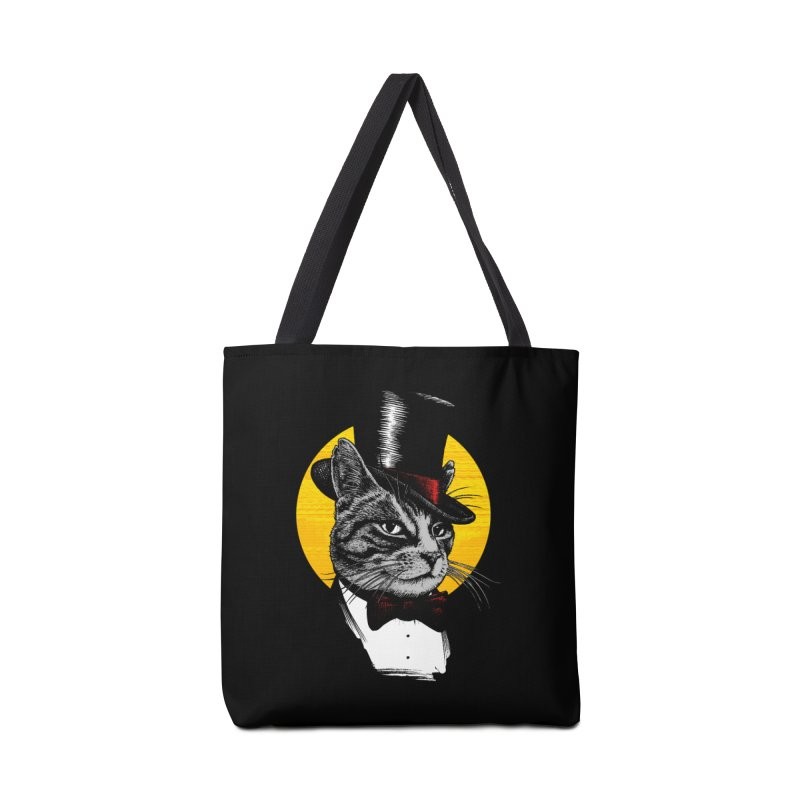 Mr. Cat Accessories Tote Bag Bag by clingcling's Artist Shop