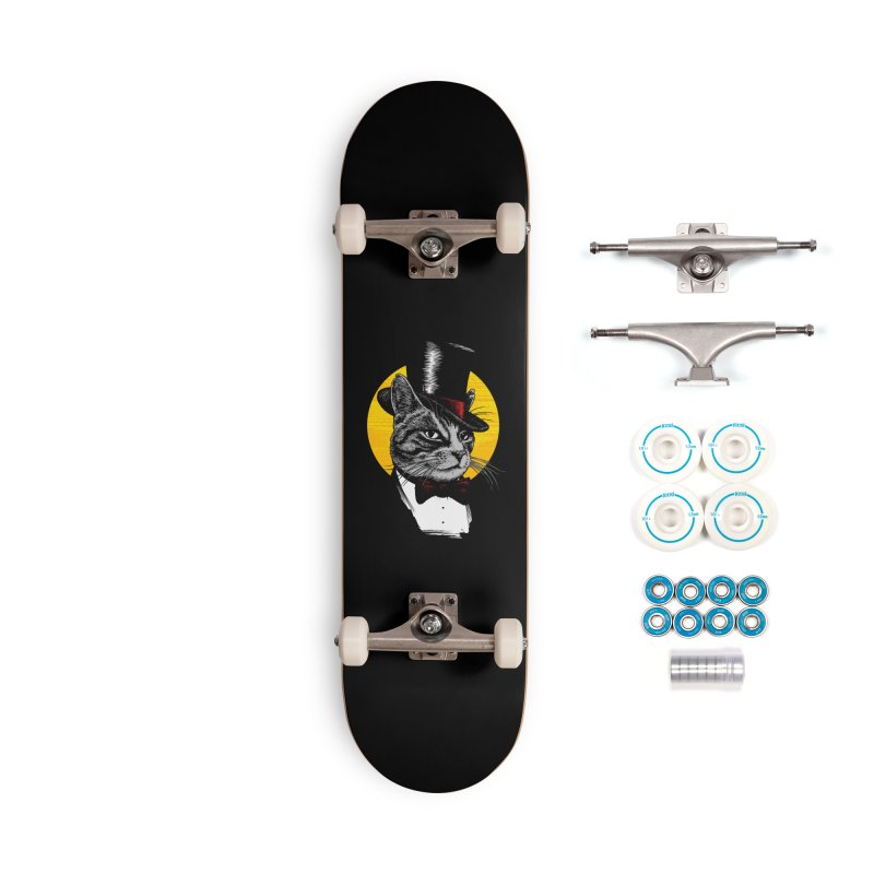 Mr. Cat Accessories Complete - Basic Skateboard by clingcling's Artist Shop