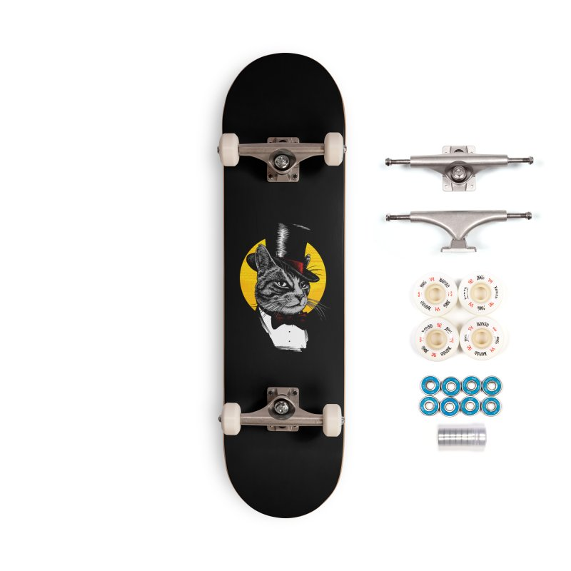 Mr. Cat Accessories Complete - Premium Skateboard by clingcling's Artist Shop