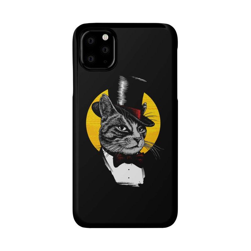 Mr. Cat Accessories Phone Case by clingcling's Artist Shop