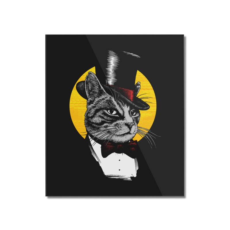 Mr. Cat Home Mounted Acrylic Print by clingcling's Artist Shop