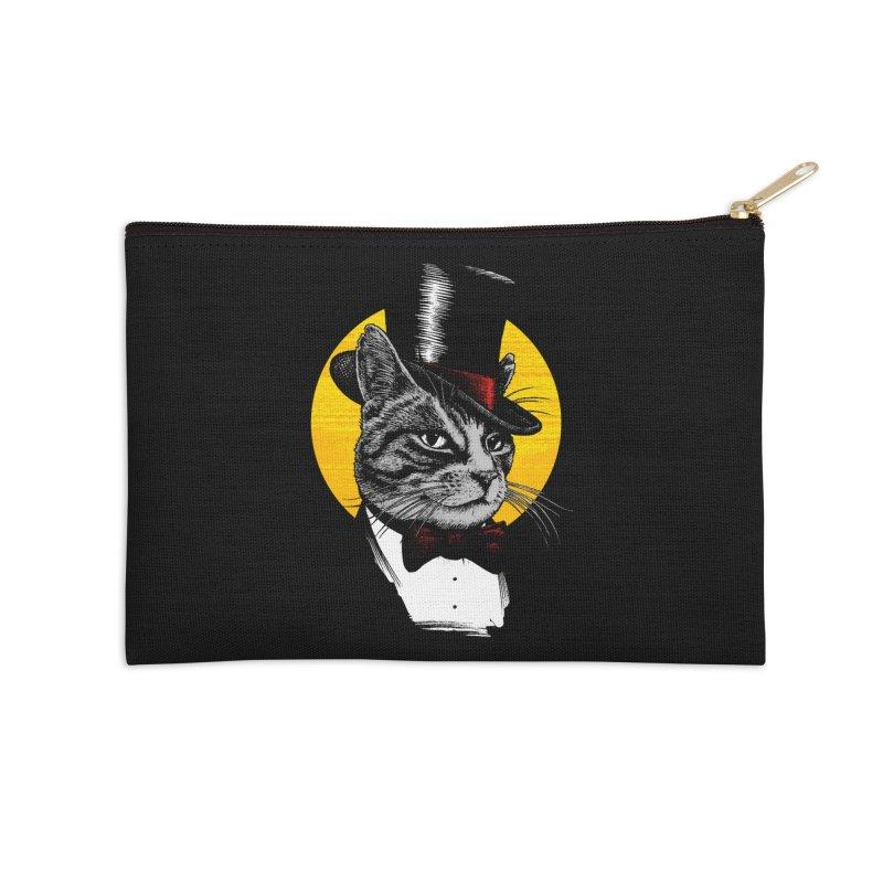 Mr. Cat Accessories Zip Pouch by clingcling's Artist Shop