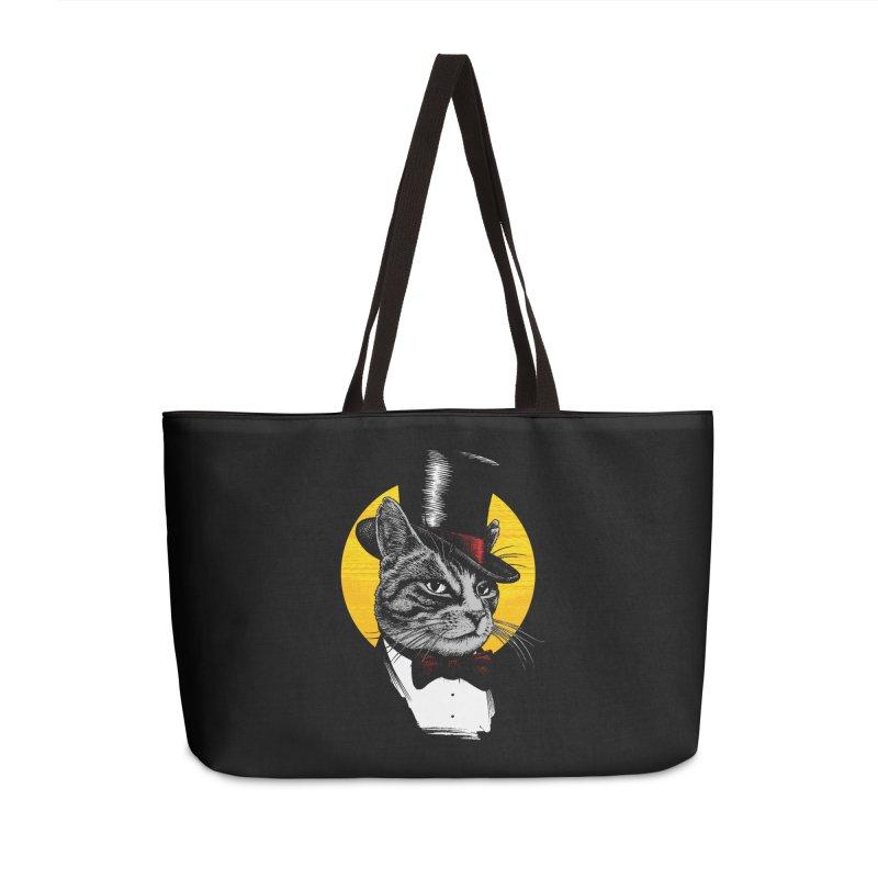 Mr. Cat Accessories Weekender Bag Bag by clingcling's Artist Shop