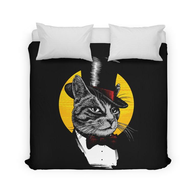 Mr. Cat Home Duvet by clingcling's Artist Shop