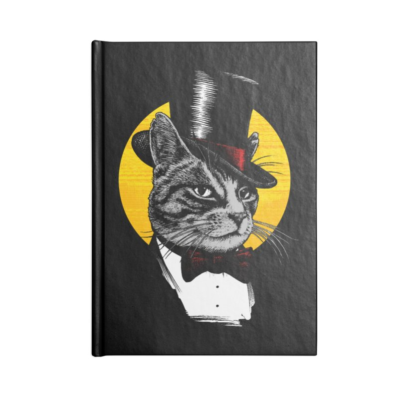 Mr. Cat Accessories Lined Journal Notebook by clingcling's Artist Shop