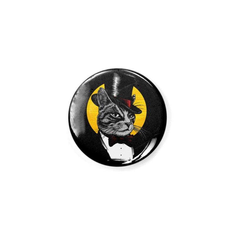 Mr. Cat Accessories Button by clingcling's Artist Shop