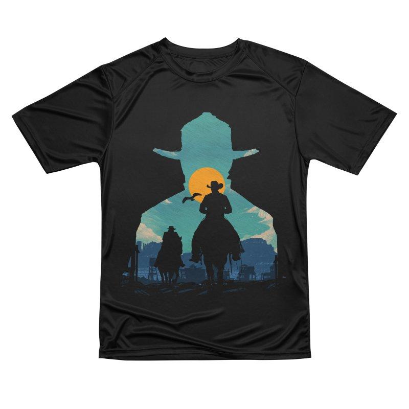 Western Sheriff Men's Performance T-Shirt by clingcling's Artist Shop