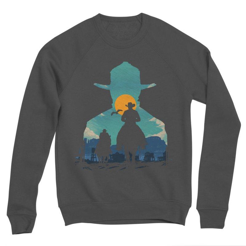 Western Sheriff Men's Sponge Fleece Sweatshirt by clingcling's Artist Shop