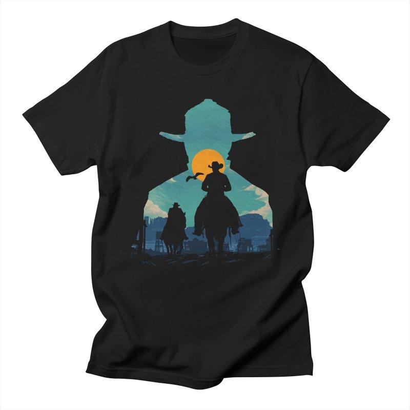 Western Sheriff Men's Regular T-Shirt by clingcling's Artist Shop