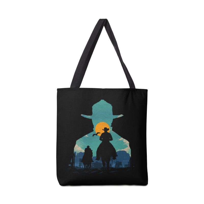 Western Sheriff Accessories Tote Bag Bag by clingcling's Artist Shop