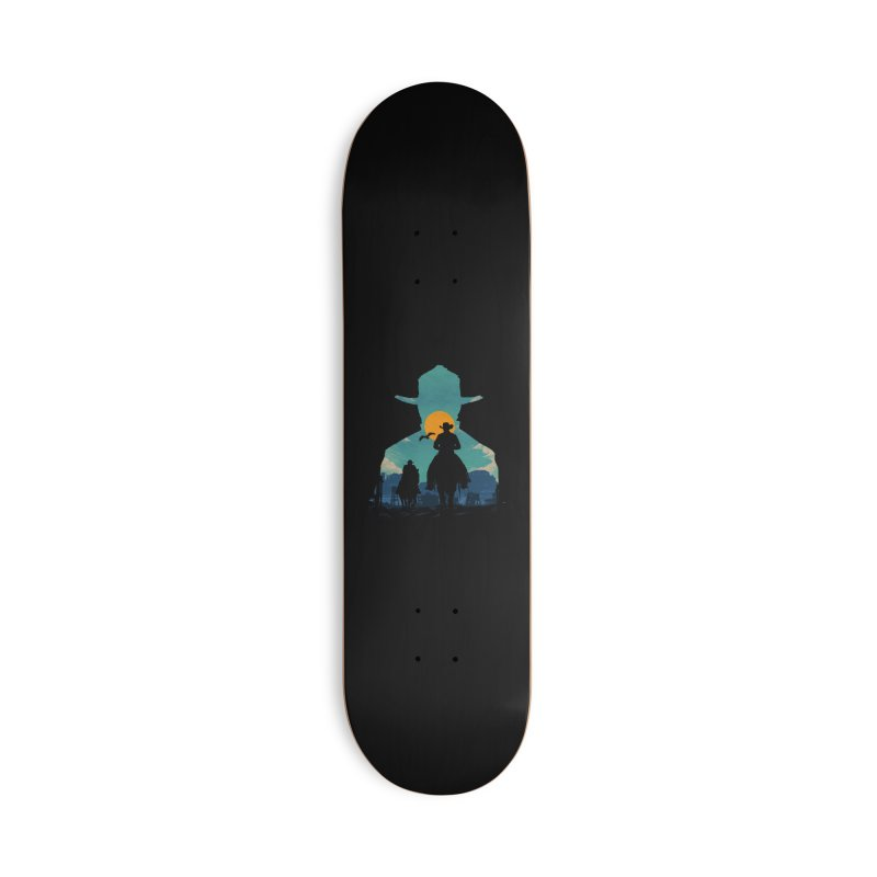 Western Sheriff Accessories Deck Only Skateboard by clingcling's Artist Shop