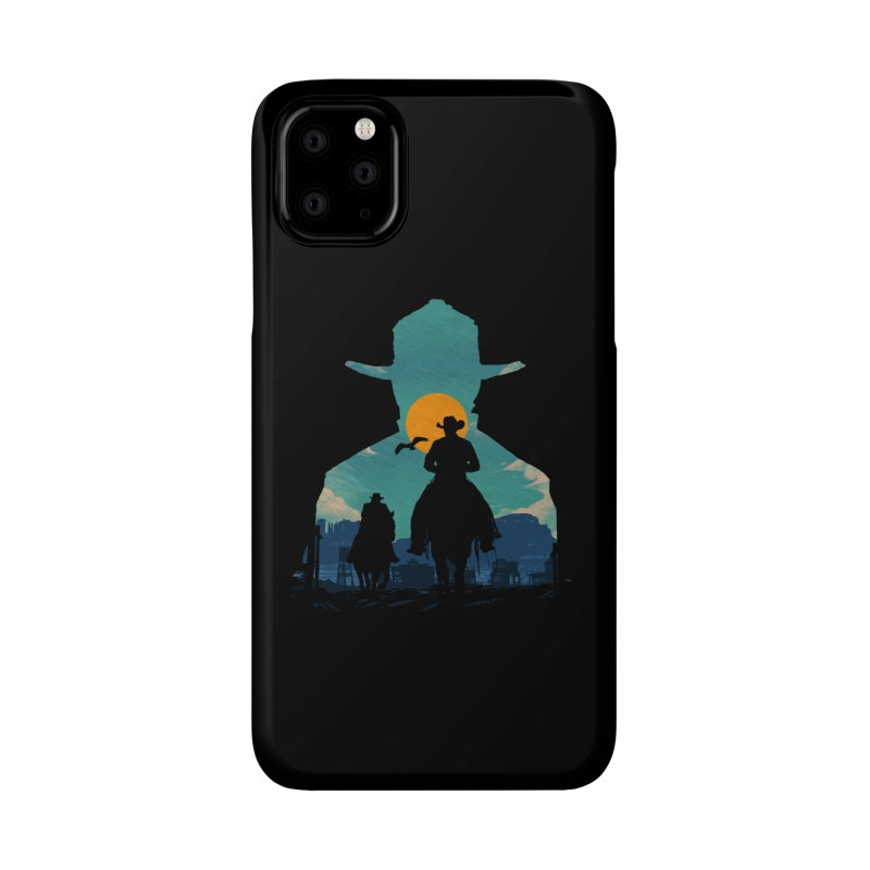 Western Sheriff Accessories Phone Case by clingcling's Artist Shop