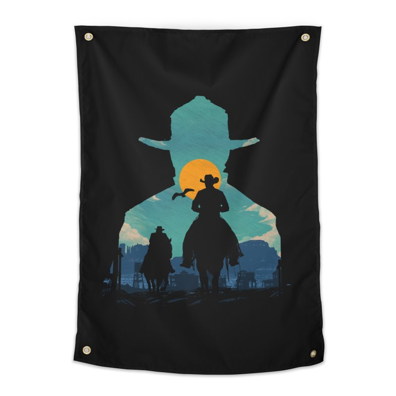 Western Sheriff Home Tapestry by clingcling's Artist Shop