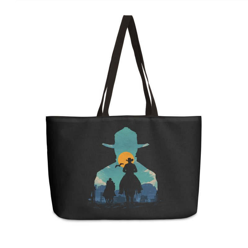 Western Sheriff Accessories Weekender Bag Bag by clingcling's Artist Shop
