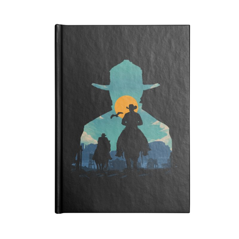 Western Sheriff Accessories Lined Journal Notebook by clingcling's Artist Shop
