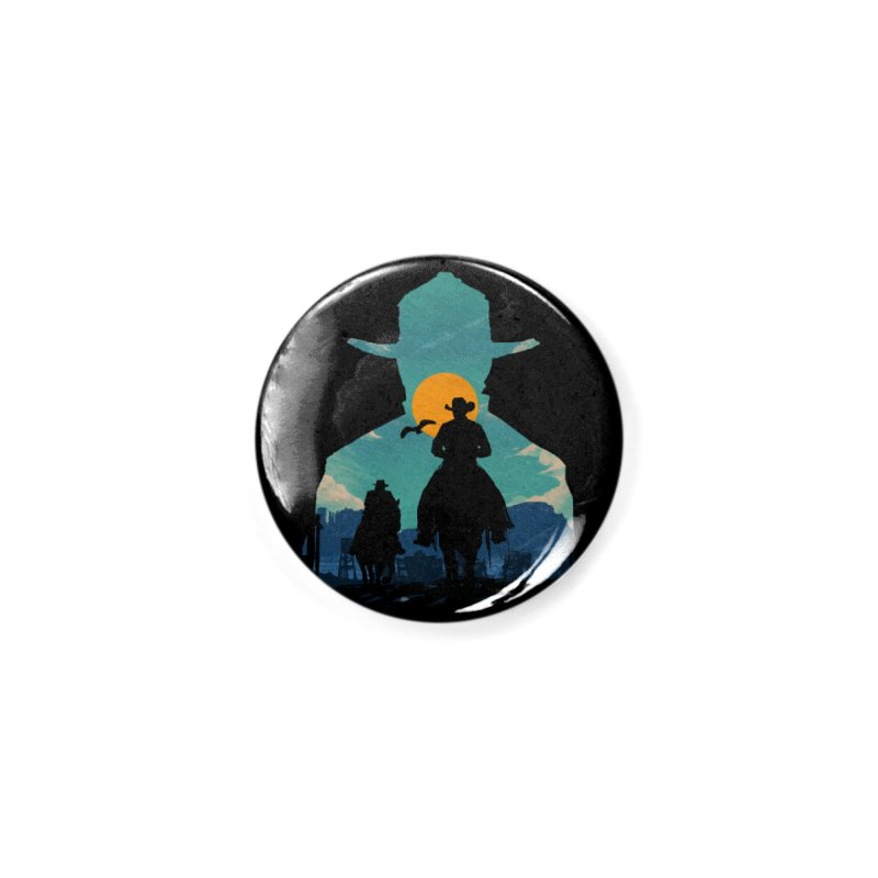Western Sheriff Accessories Button by clingcling's Artist Shop