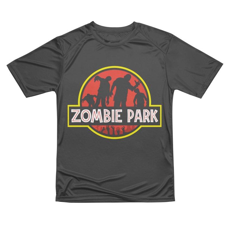 Zombie Park Women's Performance Unisex T-Shirt by clingcling's Artist Shop