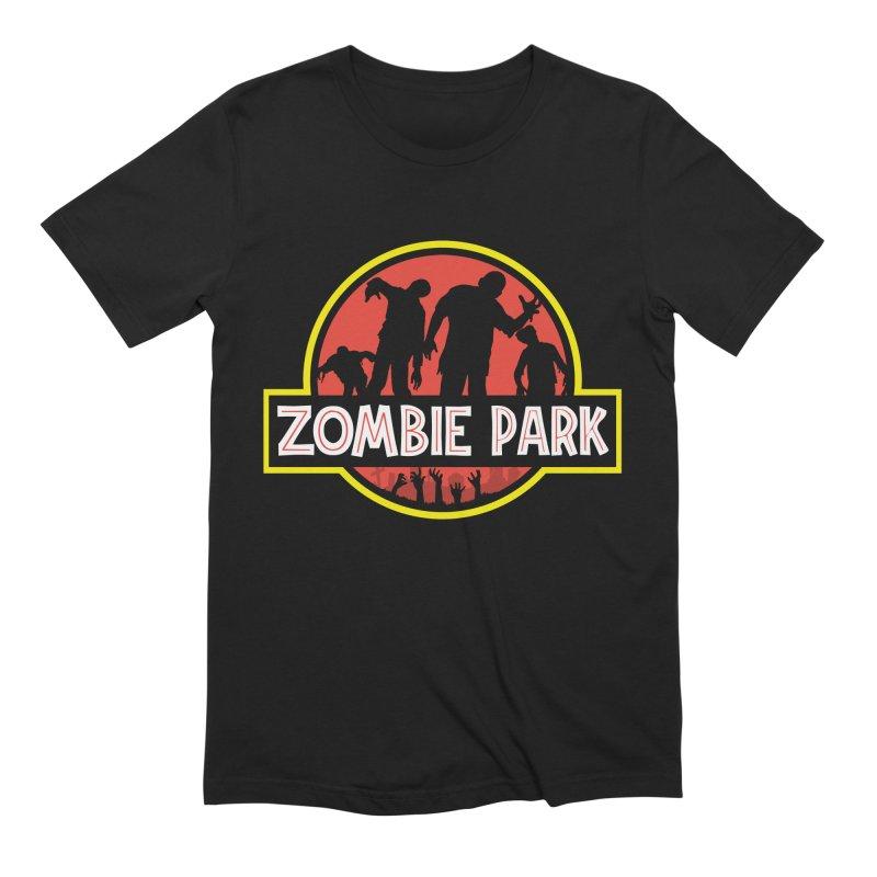Zombie Park Men's Extra Soft T-Shirt by clingcling's Artist Shop