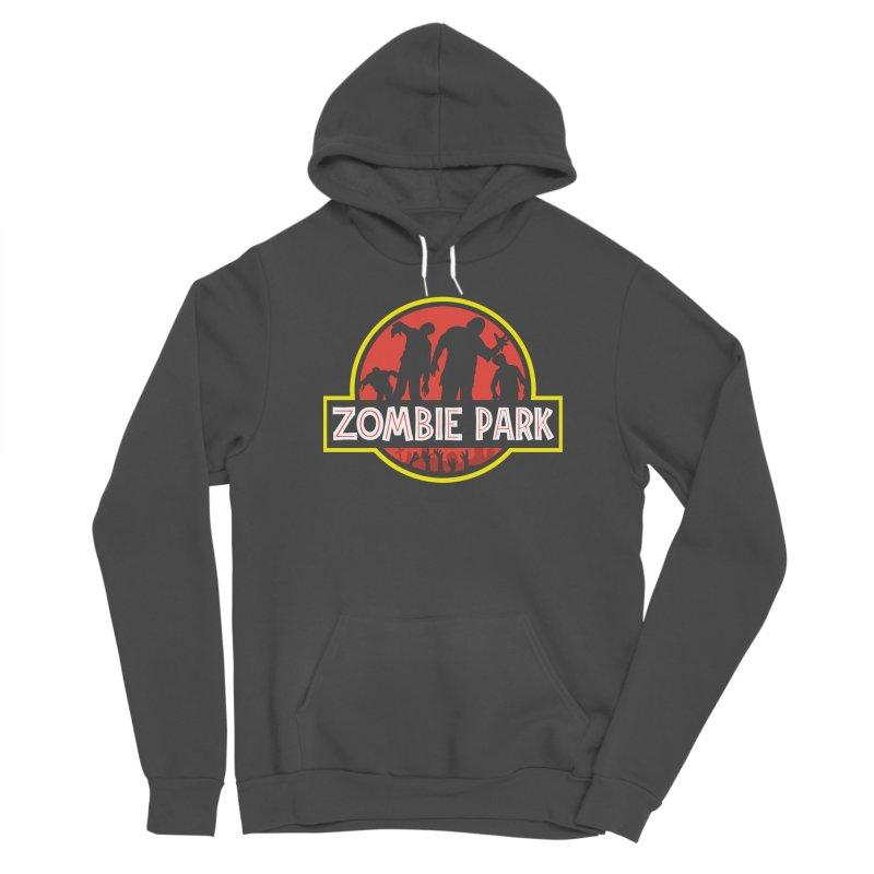 Zombie Park Men's Sponge Fleece Pullover Hoody by clingcling's artist shop
