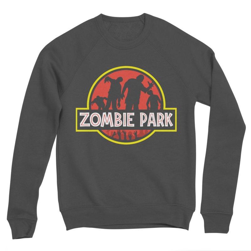 Zombie Park Men's Sponge Fleece Sweatshirt by clingcling's Artist Shop