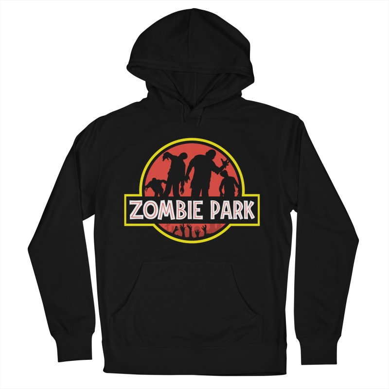 Zombie Park Women's French Terry Pullover Hoody by clingcling's Artist Shop