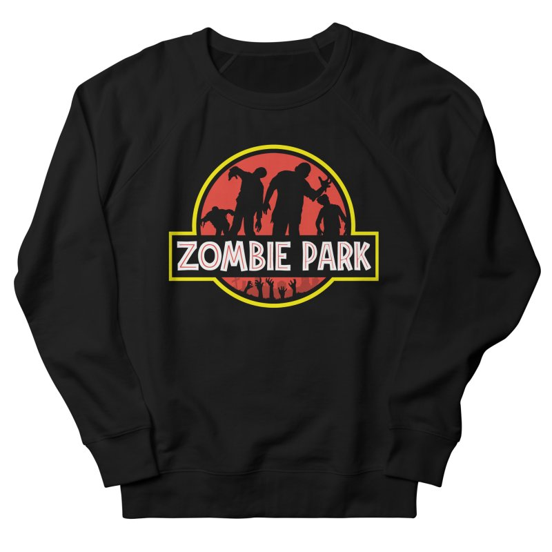 Zombie Park Women's French Terry Sweatshirt by clingcling's Artist Shop