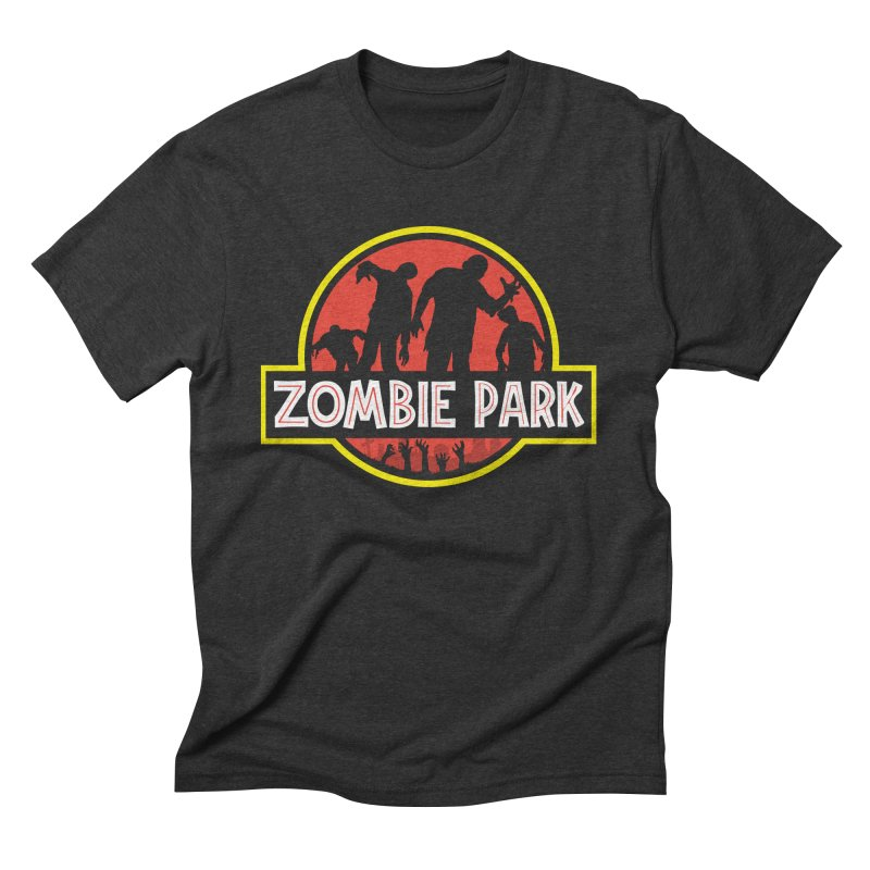 Zombie Park Men's Triblend T-Shirt by clingcling's Artist Shop