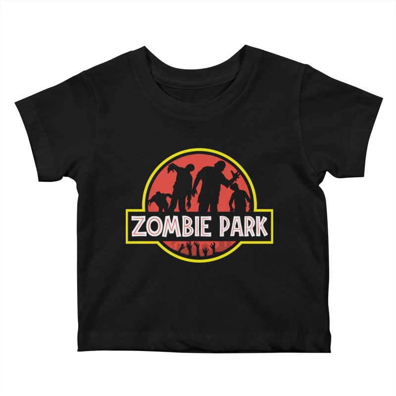 Zombie Park Kids Baby T-Shirt by clingcling's Artist Shop
